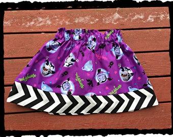 girls Vampirina skirt 2T 3T 4T 5T 4/5 6/6X 7/8 10/12 14/16 ready to ship