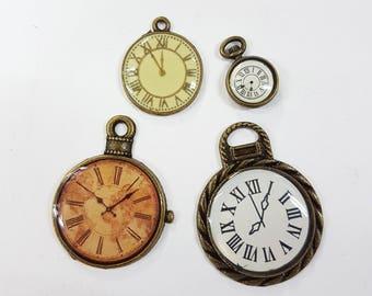 Steampunk Clock Set