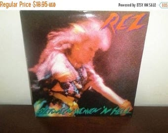 Save 30% Today Vintage 1983 Vinyl LP Record REZ Between Heaven N Hell Excellent Condition 4117