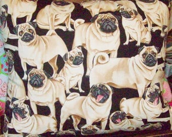 PUG ~ DOG ~ PILLOW