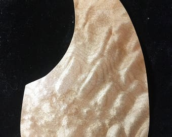 Acoustic guitar quilted maple exotic wood pick guards