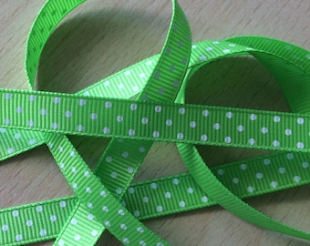 pretty Ribbon green grosgrain 603