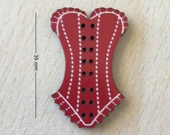 """pretty """"red lace corset"""""""