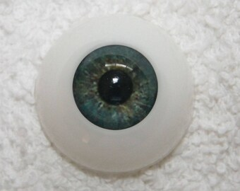 EyEcO EyEs PoLyGLaSs Eyes WoOdLaNd GrEeN 18MM ~ REBORN DOLL SUPPLIES