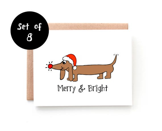 Merry and Bright Set of 8