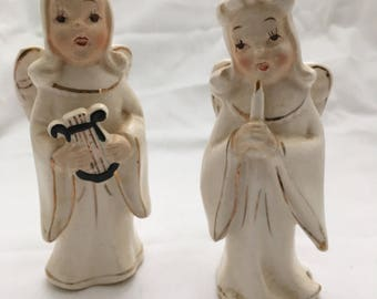 Vintage Japanese Angel Figurines