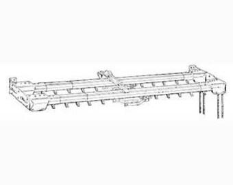 Kirsch Superfine Double Traverse Rods 48-86, Center Opening, 20 Slides