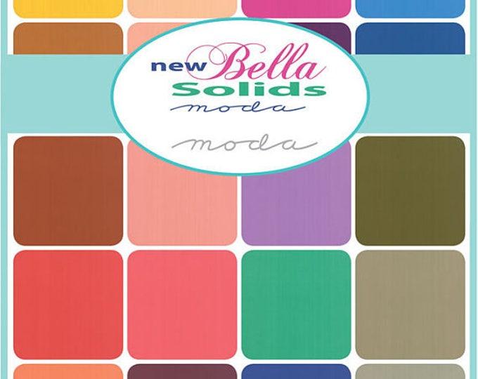 Moda Bella Solids 2017 -  27 x FQ bundle