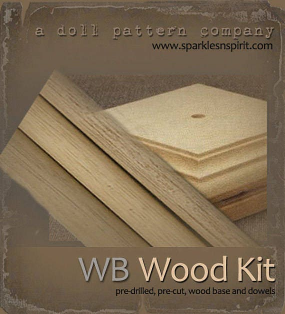 Woodkit - WB18 for Doll patterns by Sparkles n Spirit