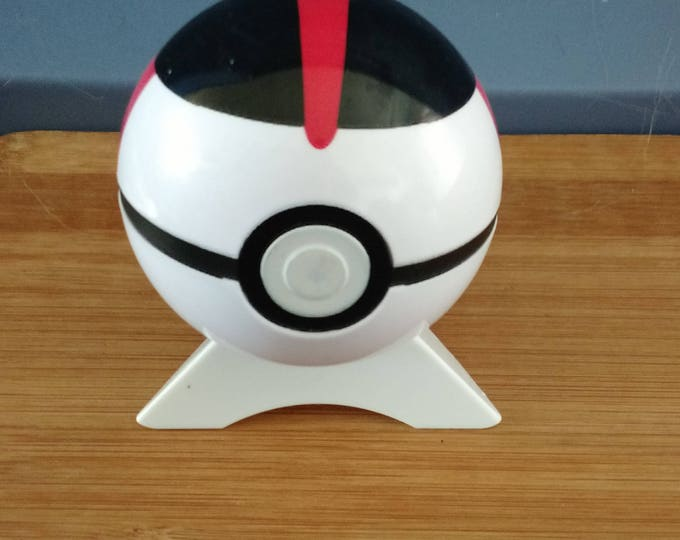 Timer Ball Plastic 3 inch Pokeball