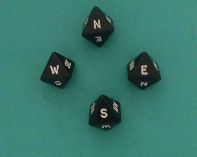 Unusual Dice - Compass Directions