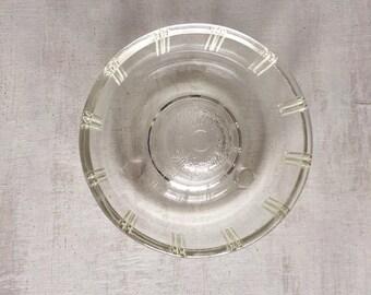 Vintage Glasbake Little Princess Miniature Bundt Dish or Apple Baker