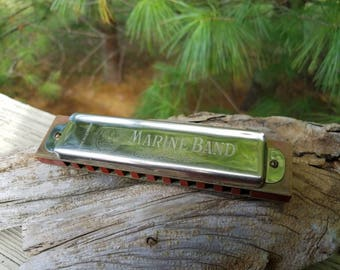 Hohner Marine Band Harmonica No. 364, C, Made in Germany
