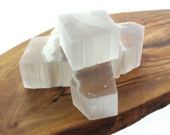 Selenite Crystal  Healing Stone Spirituality Gemstone (1 Piece)