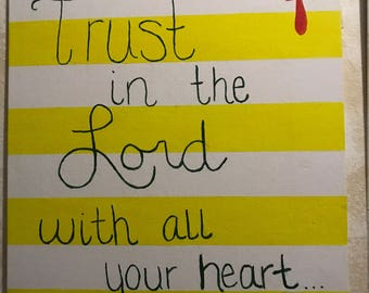 Trust In the Lord Painting