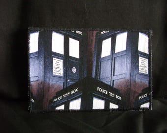 Dr Who Tardis keepsake postcard