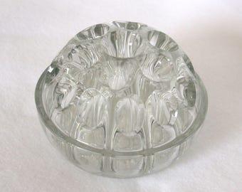 Glass Frog Vase