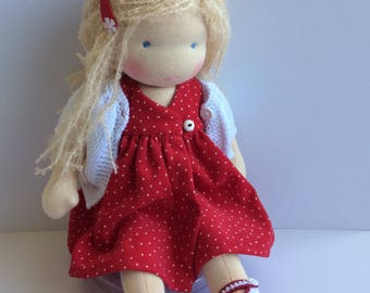Waldorf doll, waldorf dolls,waldorf inspired doll, Zonnekind pop