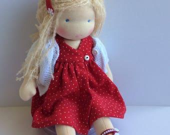 Waldorf doll, waldorf dolls,waldorf inspired doll, Zonnekind pop