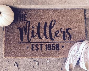 Customizable Coir Doormat