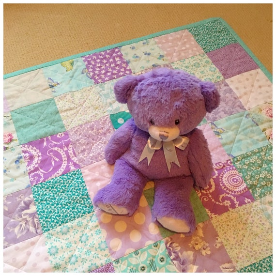 Violet Woods Patchwork Play Mat