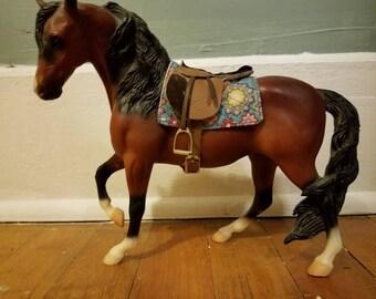 Model horse square saddle pad