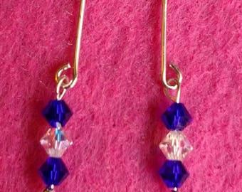 NEW!  Beautiful GENUINE SWAROVSKI Crystal Barbie Earrings...Great Accessory!