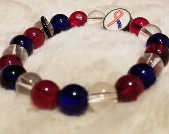 Crossfit WOD round counter bracelet- Americana