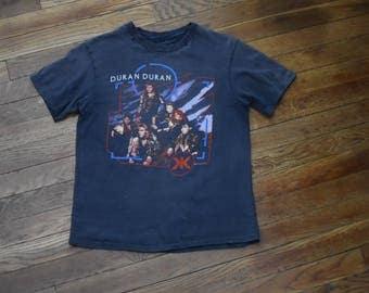 Sz S Duran Duran 1980 Tour Concert Shirt Thrashed