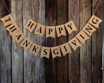 Happy Fall Banner Etsy
