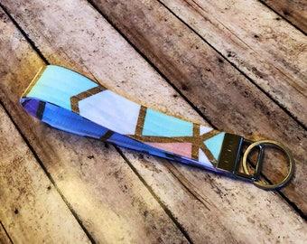 Fabric Key Fob - Key Chain