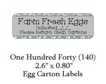 Egg carton labels premade packaging labels for cosmetics for Egg carton labels template