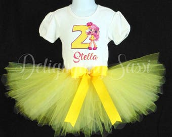 Shoppies Tutu Set, Shopkins Birthday Tutu, Bubbleisha Birthday, Birthday Tutu, Personalized Tutu, Tutu Set, Personalized Birthday Tutu