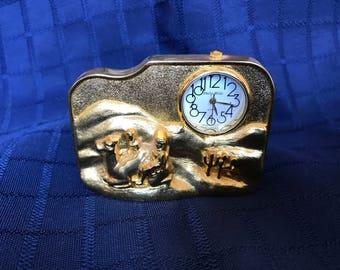 Desert miniature clock - Philip Wells