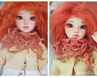 Orange Autumn Scarf