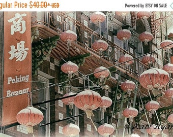 ON SALE San Francisco Photography, California Photos, Chinatown, San Francisco Landmarks, Vintage Style Photo Art, Wall Art, Home Decor, Off