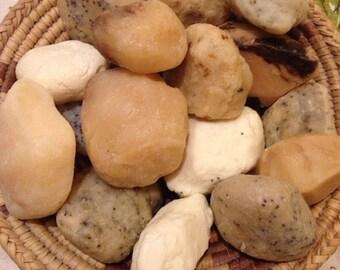 Soap Rocks - fun handmade and handformed soap grab bags!