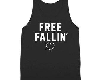 Free Fallin Falling Rip Heart Tom Petty Concert Tank Top DT1990