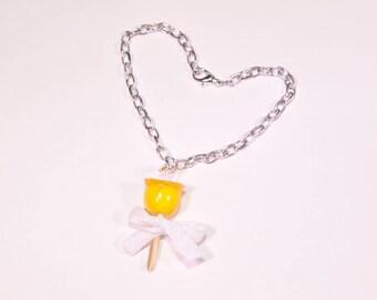 Lemon love Apple bracelet