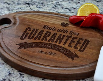 Personalized Cutting Board, Gift for Couple, Engagement Gift, Cutting Board, Personalized Gift, Wedding Gift, Anniversary Gift