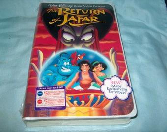 Vintage VHS Movie, Factory Sealed, The Return of Jafar, Walt Disney, Home Video, 2237