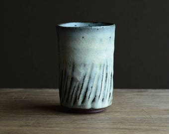 Yunomi - tea cup. Made from local native clay from The Dingle Peninsula. #224