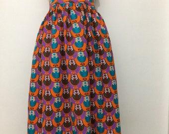 African Maxi skirt , African print maxi skirt