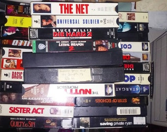 10 Vhs tapes, in great condition
