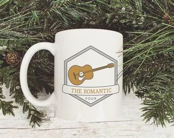 Enneagram Type 4 The Romantic Guitar Mug