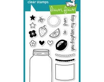 "Lawn Fawn-Summertime Charm - Clear Stamps 4""X6"""