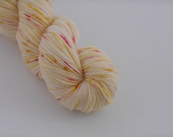 LOVE SOCK,  Brioche aux pralines, merino nylon sock yarn,100g