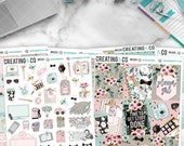 Planner Girl Weekly Planner Kit for No-White Space and White Space Planners  - WK12