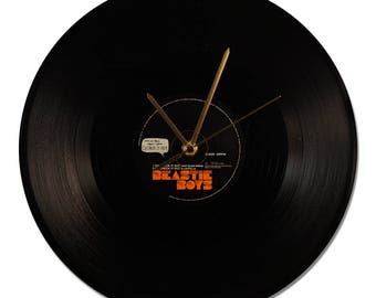 "BEASTIE BOYS ""CH-CHECK IT OUT"" VINYL CLOCK"""
