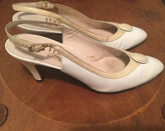 1980s Salvatore Ferragamo High Heels 81/2